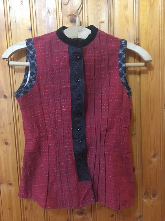 Folk Vest , Folk costume,  Bulgarian folk costume,