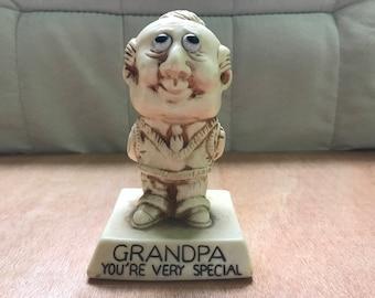 Vintage R&W Berries Grandpa You're Very Special Figurine