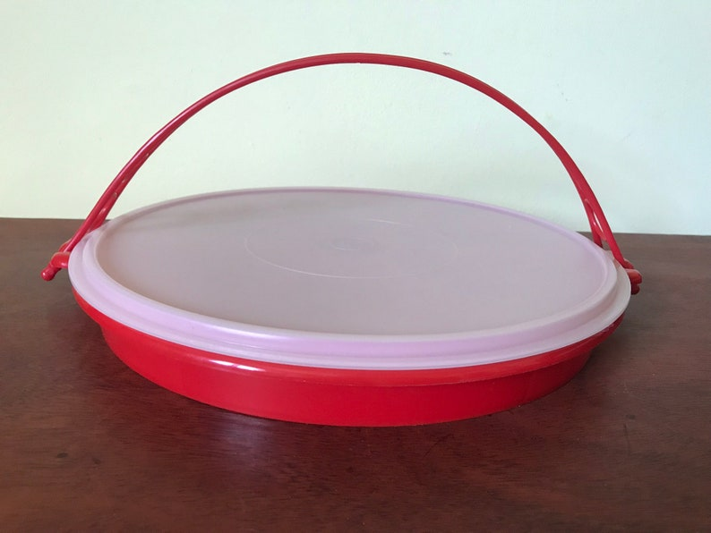 Tupperware Divided Vegetable Serving Tray