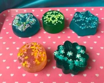 Set of 5 Glycerin Soap