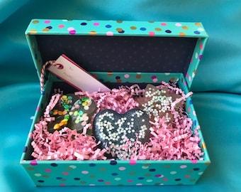 Polka Dot Handmade Soap Gift Set
