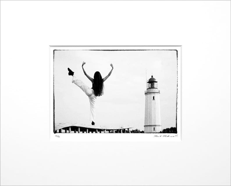Danilo Böhme At the Lighthouse Black and White image 0