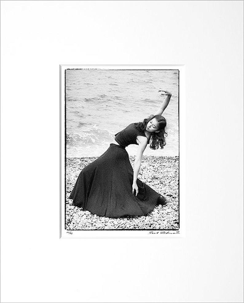 Danilo Böhme Palucca Dancer Black and White image 0