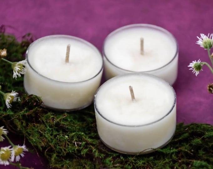 FREE Natural Vegan Soy Wax Tea Light Candle Samples***