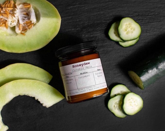 Honeydew Vegan Soy Wax Candle