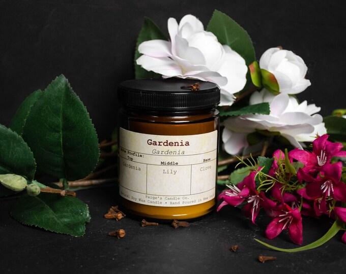Gardenia Vegan Soy Wax Candle