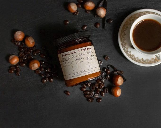 Hazelnut & Coffee Vegan Soy Wax Candle