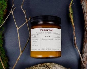 Firewood Vegan Soy Wax Candle