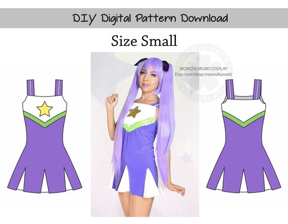 Diy Cheer Dress Pattern Size Small