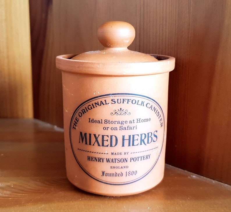 Food & Kitchen Storage Vintage Country Farmhouse Terracotta Henry Watson Utensils Home, Furniture & Diy