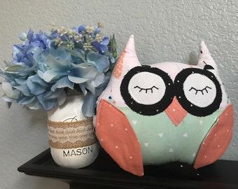 Owl stuffed animal, owl plush