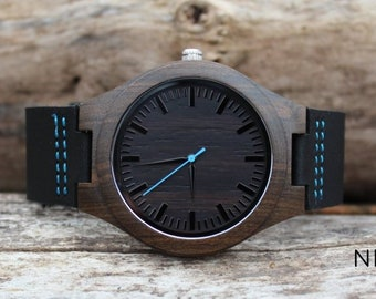 Men Gifts for Husband, Christmas Gift for Him, Wooden Watch Unique Gifts for Men Gift for Boyfriend Step Dad Gift