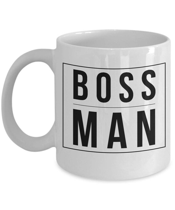 Coffee Mug For The Office Boss Man Business Gifts Work