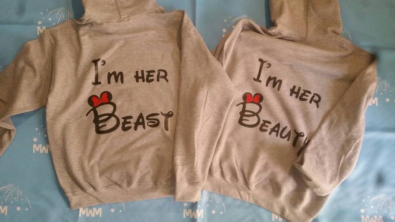 18810e2ed LGBT Lesbian I'm Her Beast and I'm Her the Beauty | Etsy