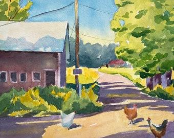 Barnyard Chickens