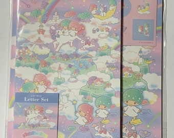 Sanrio Characters Letter Set Genuine Twin Little Stars Kitty Japan
