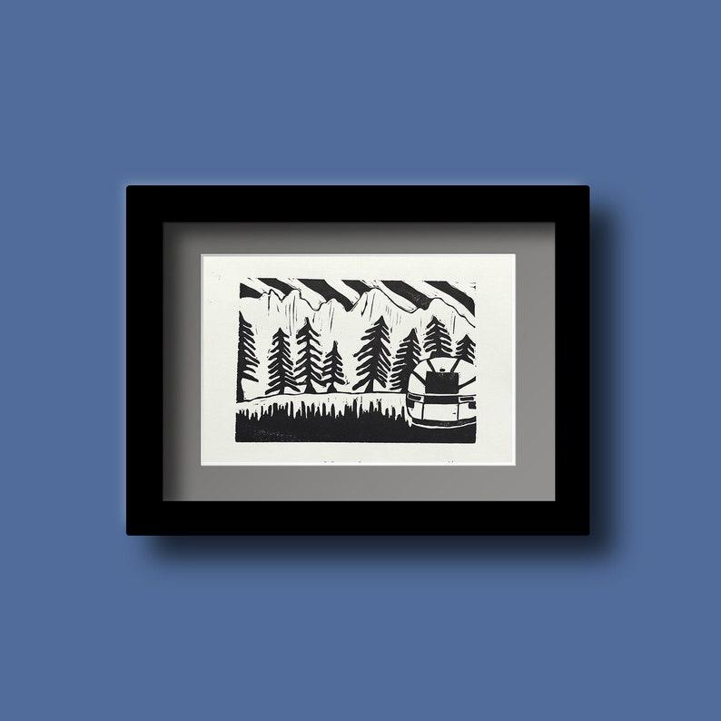 Serenity  Handmade Art Print image 0