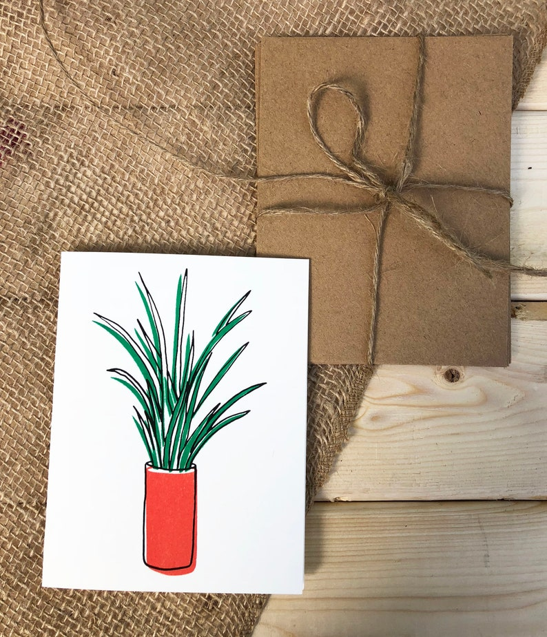 Blank note card Plant Lover image 0