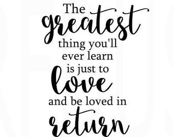 return to love quote etsy