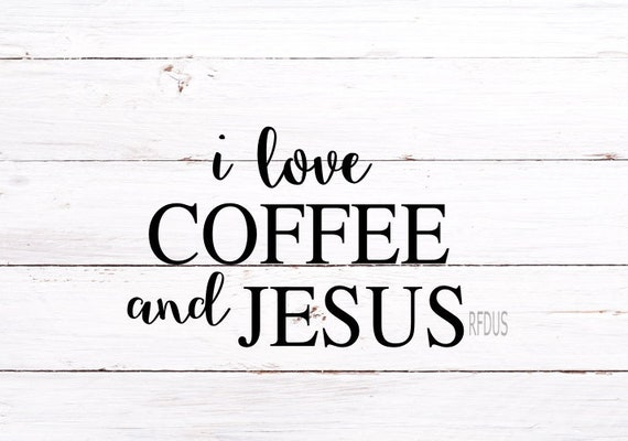 This Girl Runs On Coffee And Jesus Svg Cricut Cutting File Etsy
