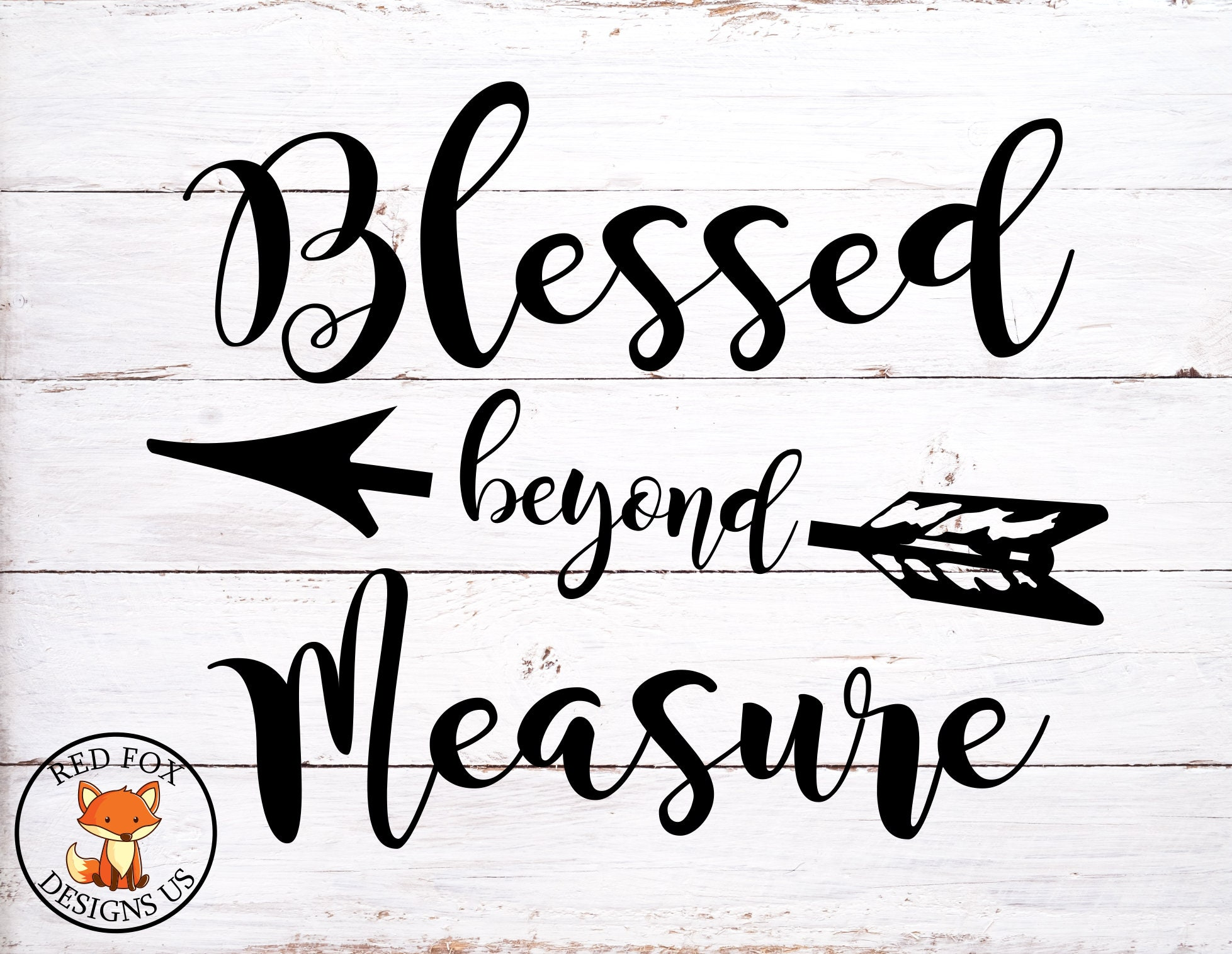 Blessed beyond Measure svg Walk In Faith SVG Easy Cricut  6206ff9444b0