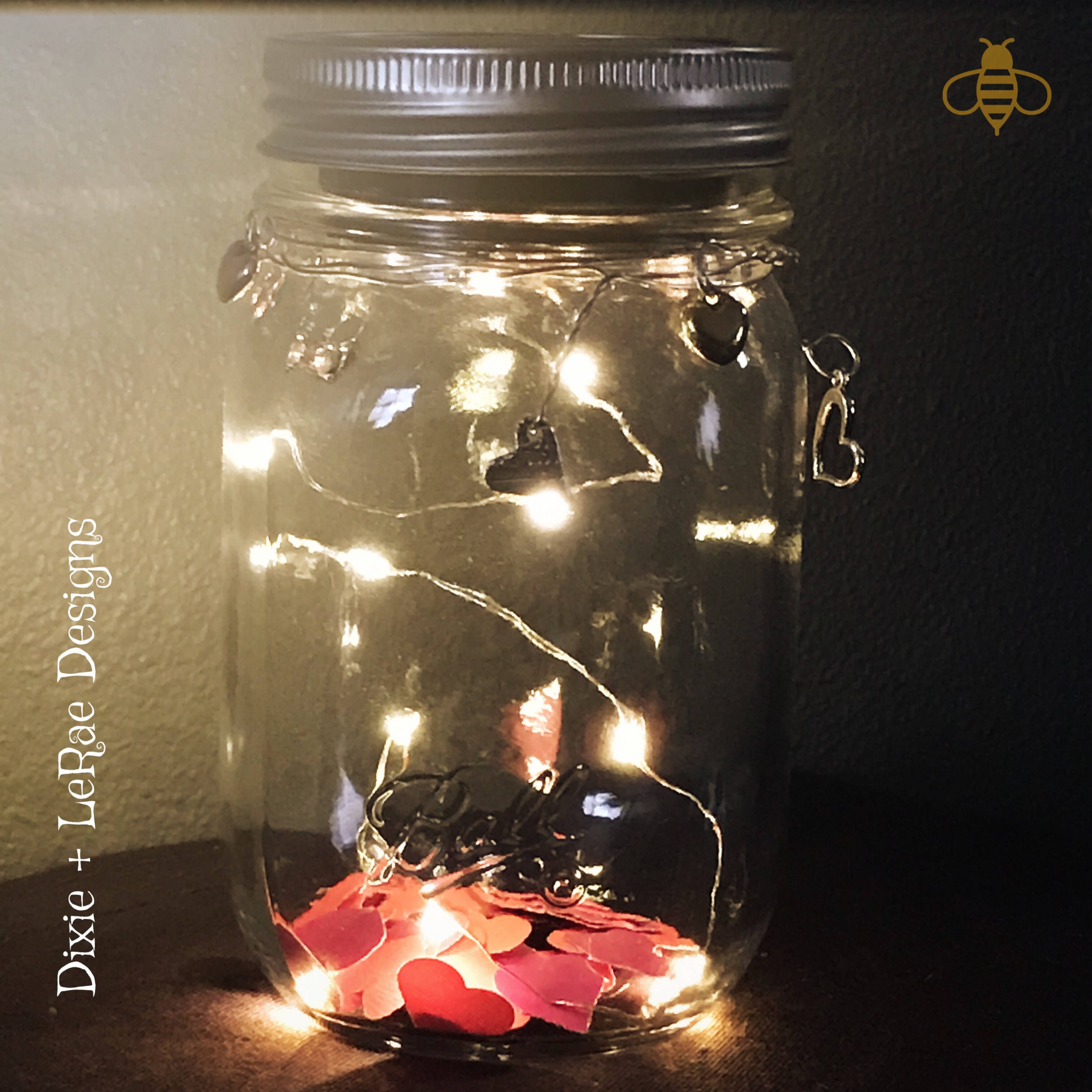 Mason heart fairy light jar with firefly lights outdoor lightning mason heart fairy light jar with firefly lights outdoor lightning rustic fairy lights mason jar lights valentines day jar aloadofball Image collections