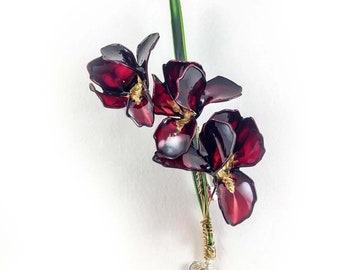 Handmade Flower Brooch Arco Iris