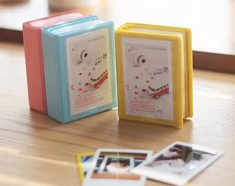 Candy Instax mini album, Fujifilm Instax mini album, Polaroid mini album, Instant film album, Instax travel album (may a month for delivery)