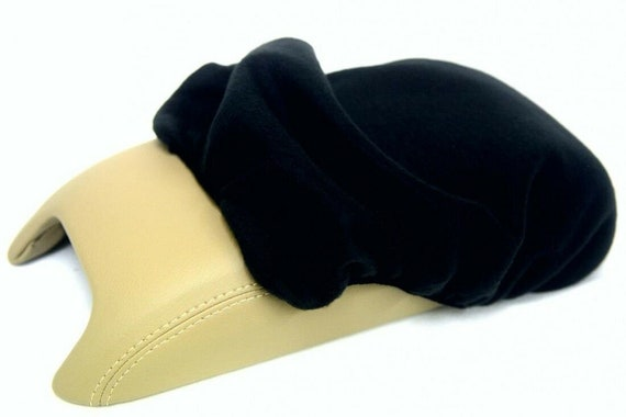Fits 11-20 Dodge Journey Synthetic Leather Armrest Center Console Cover Beige