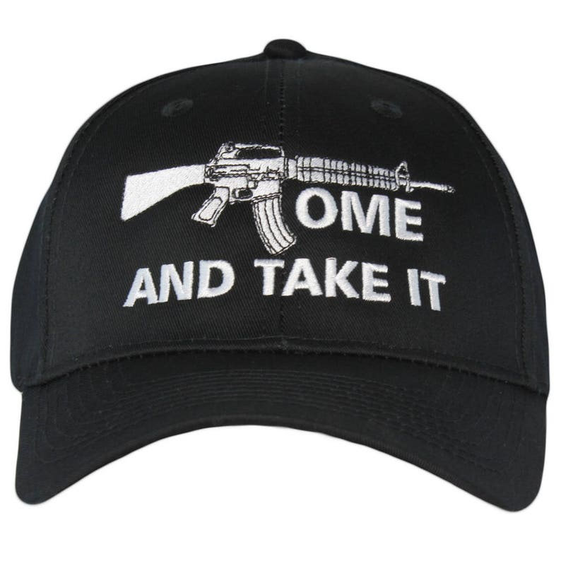 3c0bf4fd Come and Take It 2nd Amendment Hat Gun Rights Second Amendment | Etsy