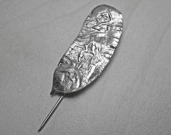 Silver brooch,vintage brooch,antique brooch,leaf silver brooch,leaf brooch pin,leaf brooch,beauty gift,silver brooch pin,brooch leaf pin