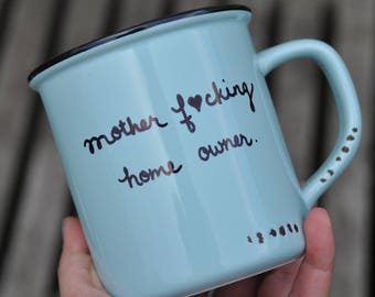 New home housewarming gift new home gift new house gift new homeowner our first home decor home sweet home housewarming mug new house mug