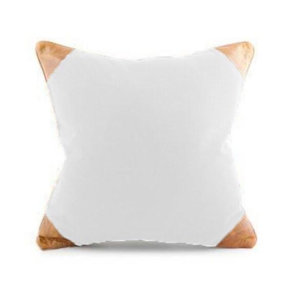White canvas bolster pillow cover, girl