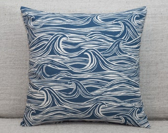 4 Sea Bound Boats Beach Nautical Pillow Panels Fabric 100/% Cotton