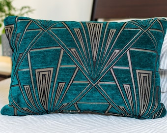 Teal pillow case | Etsy