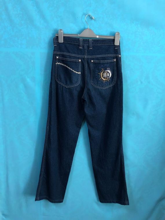VTG HARDY AMIES jeans hardy amies marine edition d