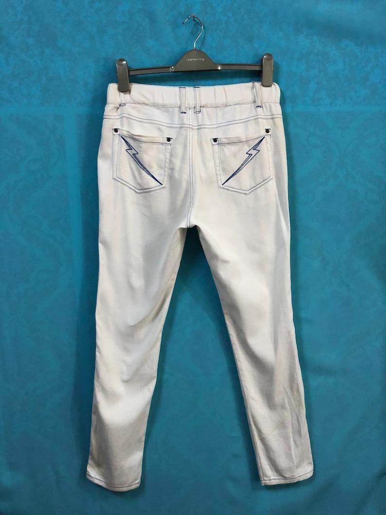 RARE KANSAI YAMAMOTO super lady dawid bowie style aladdin sand striped pockets large #559