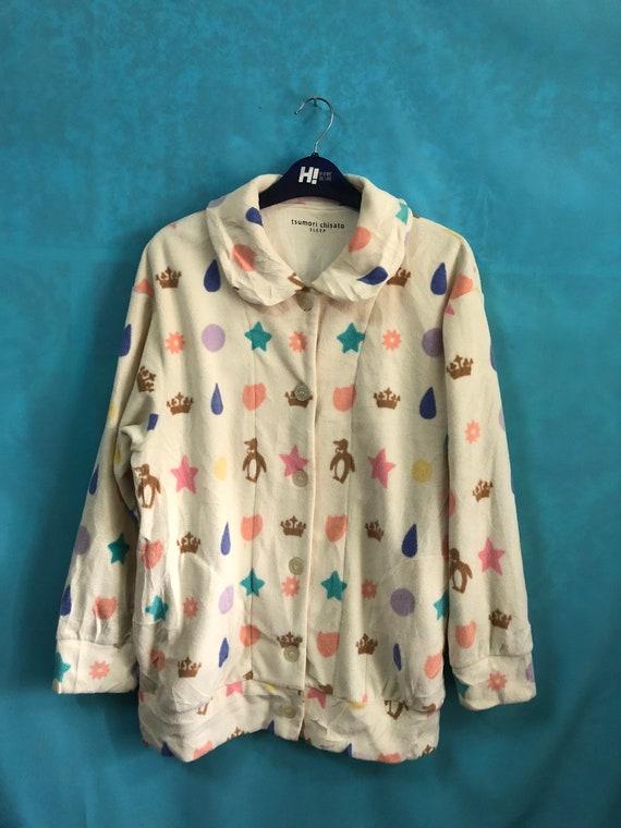 VTG TSUMORI CHISATO sleep pyjamas softcotton butto