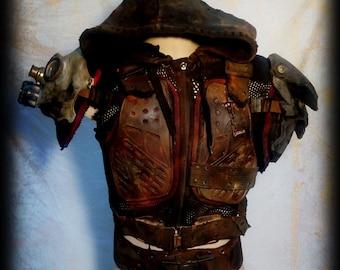 Warrior Armor-Post apocalyptic survivor-wasteland warrior
