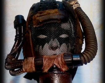 Survivor Mask of the wasteland-Post apocalyptic mask-Airsoft mask