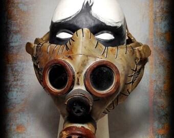 Half mask-Post apocalyptic half mask-airsoft gas mask-Wasteland Warrior