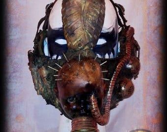 Half mask-Post apocalyptic half mask-Baby pinhead-Wasteland Warrior