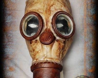 Gas Mask Post Apocalyptic style-wasteland survivor-Russian mask