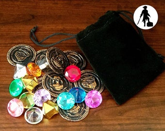 BEST VALUE Qty 4+ Pirate Treasure Party Favors