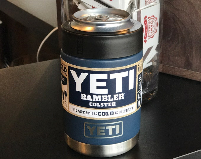 PERSONALIZED laser engraved YETI Rambler Colster