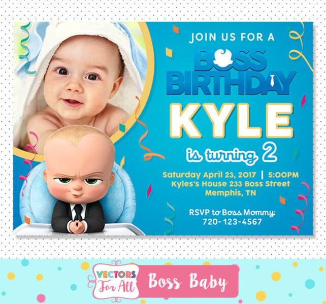 Baby-Einladung Chef Baby Geburtstag   Etsy