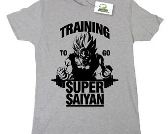 Training To Go Super Saiyan Inspired by Dragon Ball Z T-Shirt