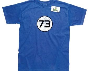Sheldon Cooper 73 Inspired by Big Bang Theory T-Shirt