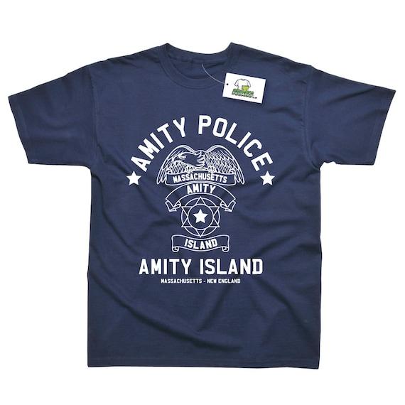 Amity Island Police T-shirt - S to XXL