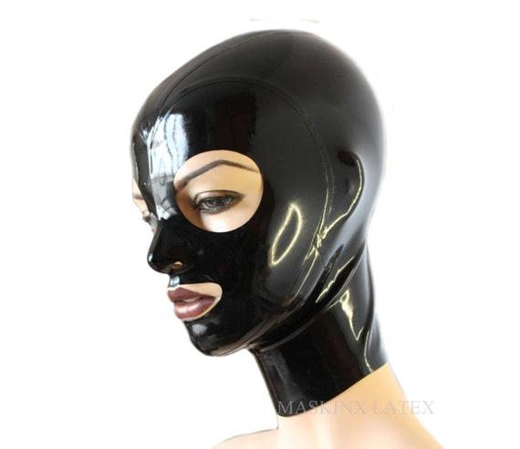 Latex rubber hoods